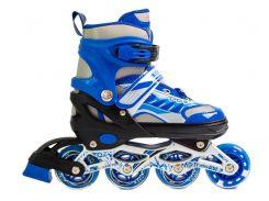 Роликовые коньки Happy 2 29-33 Blue (1585087819-S)