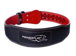 Пояс для важкої атлетики PowerPlay 5085 XL Чорно-червоний (PP_5085_XL_Black)