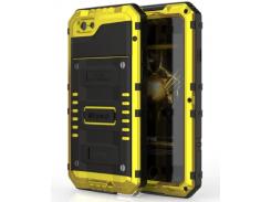 Чехол Luphie X-men Wolverin Series для Apple iPhone 6/6s Yellow