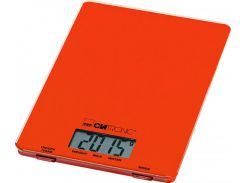 Весы кухонные Clatronic KW 3626 Glas Orange