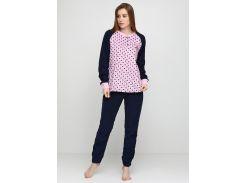 Пижама (штаны, кофта) Lee Cooper S Темно-синий, Розовый (DI66930651950)
