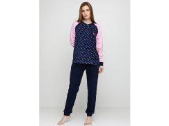Пижама (штаны, кофта) Lee Cooper S Синий, Розовый (DI66930651958)