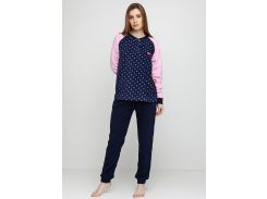 Пижама (штаны, кофта) Lee Cooper M Синий, Розовый (DI66930651957)