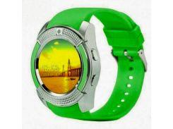Смарт-часы UWatch SmartWatch SW V8 Green (70_1348700)