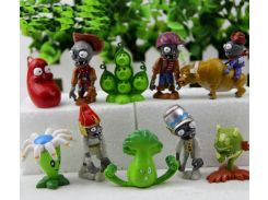 Набор №8 Растения против зомби Plants vs Zombies 10 фигурок (8nabor)