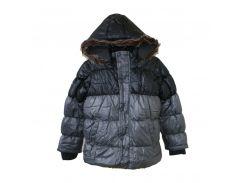 Куртка Minoti еврозима 128-134 см Urban2g Серая (hub_GJVi10954)