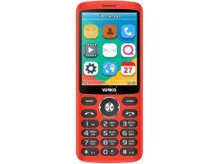Мобильный телефон Verico Style S283 Red (WY361834252)