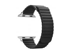 Ремешок ArmorStandart для смарт-часов Apple Watch ALL Series 38mm Leather Loop Band Black (ARM48655)