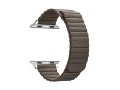 Ремешок ArmorStandart для смарт-часов Apple Watch ALL Series 38mm/40mm Leather Loop Band Brown (ARM48657)