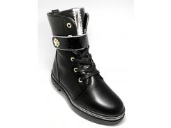 Ботинки Y.TOP 35(р) Черный F7822-6