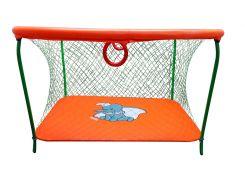 Манеж игровой KinderBox с крупной сеткой Оранжевый (km 5514)