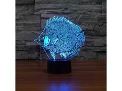 Ночник 3D Kronos Top Рыба (stet_1283 (L293))