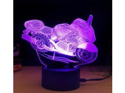 Ночник 3D Kronos Top Мотоцикл (stet_1271 (L168))