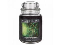 Свеча Village Candle Черный Бамбук 740г (время горения до 170 часов)