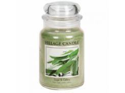 Свеча Village Candle Шалфей И Сельдерей 740г (время горения до 170 часов)