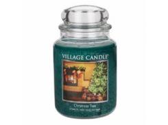 Свеча Village Candle Рождественская Елка 740г (время горения до 170 часов)