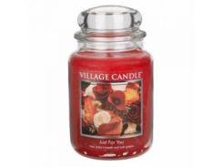 Свеча Village Candle Только Для Тебя 740г (время горения до 170 часов)