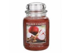 Свеча Village Candle Яблоки И Корица 740г (время горения до 170 часов)