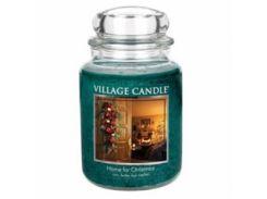 Свеча Village Candle Рождественский Дом 740г (время горения до 170 часов)