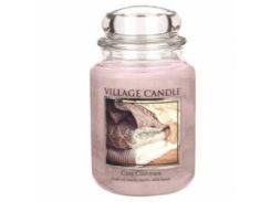 Свеча Village Candle Уютный Кашемир 740г (время горения до 170 часов)
