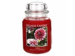 Свеча Village Candle Георгины 740г (время горения до 170 часов)
