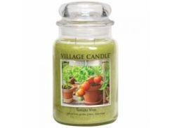 Свеча Village Candle Томатная Лоза 740г (время горения до 170 часов)