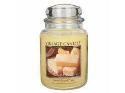 Свеча Village Candle Лимонный Кекс 740г (время горения до 170 часов)