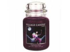 Свеча Village Candle Сахарная Слива 740г (время горения до 170 часов)