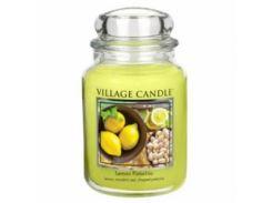 Свеча Village Candle Лимон Фисташки 740г (время горения до 170 часов)