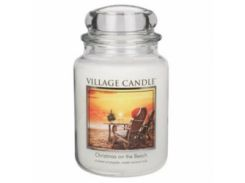 Свеча Village Candle Рождество на пляже 740 г время горения до 170 часов (96987)