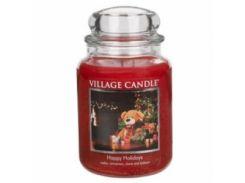 Свеча Village Candle Счастливые Праздники 740г (время горения до 170 часов)