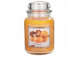 Свеча Village Candle Апельсин-Корица 740г (время горения до 170 часов)
