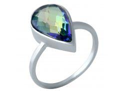 Серебряное кольцо Silver Breeze с натуральным мистик топазом 17 размер (1960967)