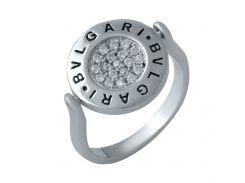 Серебряное кольцо SilverBreeze с емаллю 17 (1985045)