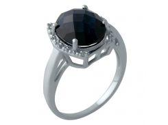 Серебряное кольцо Silver Breeze с сапфиром nano 18 размер (2006954)