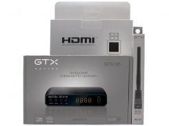 Комплект цифрового ТВ Geotex GTX-35 + GTX HDMI 1.5 м + Wi-Fi