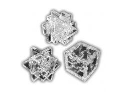 Набор акриловых 3D-головоломок Крутиголовка Прозрачный (krut_0534)