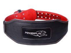 Пояс для важкої атлетики PowerPlay 5053 S Чорно-червоний (PP_5053_S_Black)