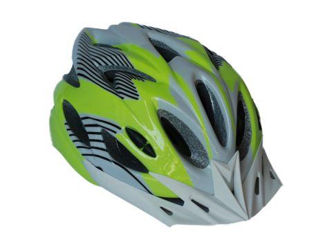 Велосипедный шлем NB FT-09-13 56-62 см Салатовый с серым (80840246) Киев