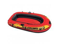 Лодка надувная Intex 58356 EXPLORER PRO 200 на 2 человека  Красный (int58356)