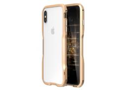 Бампер Luphie Ultra Luxury для iPhone X/Xs Gold