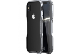 Бампер Luphie Ultra Luxury для iPhone X/Xs Gray/Silver