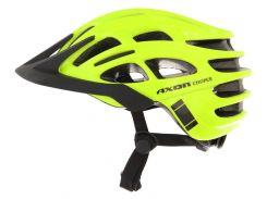 Шолом велосипедний Axon Choper L-XL Черный с желтым (hub_CZOc35456)