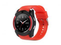 Умные часы UWatch SmartWatch SW V8 Red (70_1342500)