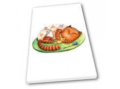 Картина на холсте в детскую Kronos Top Кот Матроскин 80 х 120 см (lfp_1168557226_80120)