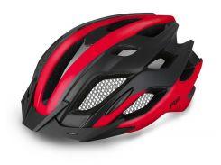 Шолом велосипедний R2 Tour L Black-Red (ATH13F-L)