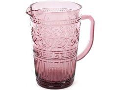 Кувшин Bona Siena Toscana 1.5 л Розовый (BD-581-027_psg)