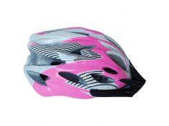 Велосипедный шлем NB FT-09-8 56-62 см Розовый (80840243)