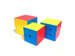 Набор цветных кубиков Рубика MoYu (2-3-4) (krut_0567)