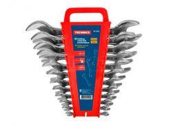 Набір ключів ріжкових двосторонніх 12 шт (6-32мм) 48-902 ТМ Technics (76483)